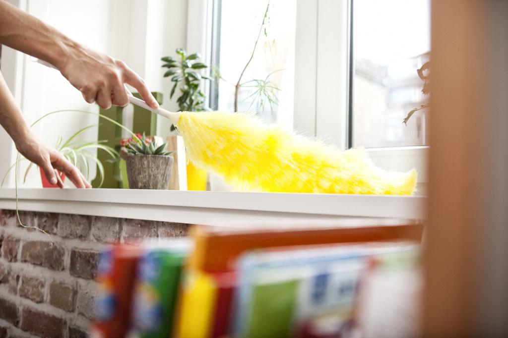 Как уменьшить количество пыли в квартире?