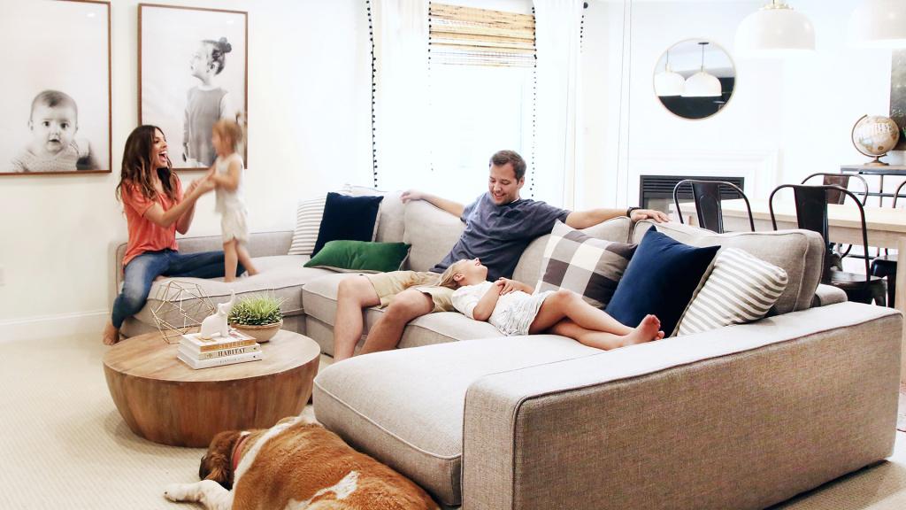 Каким должен быть интерьер для большой семьи