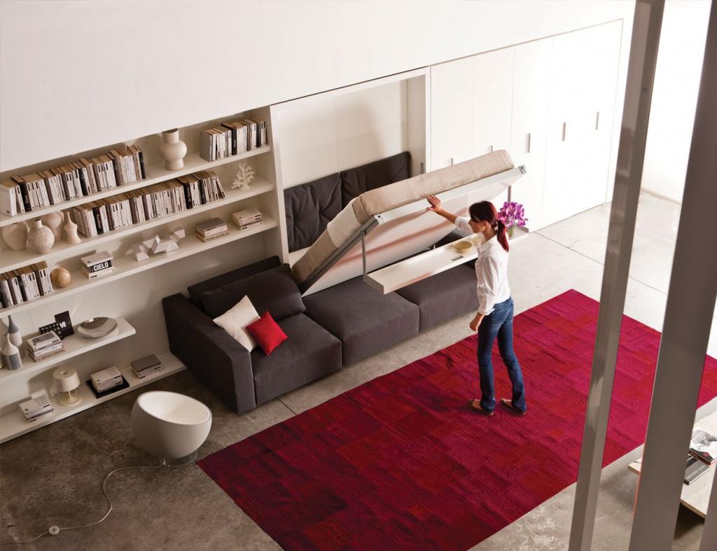 Какая бывает складная мебель для квартиры?