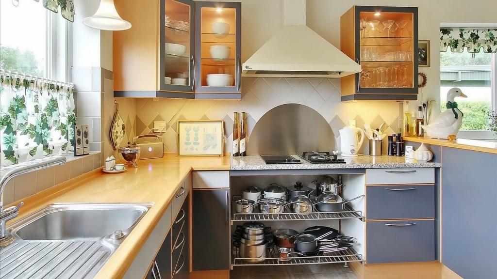 Какой должна быть кухня, чтобы на ней всё умещалось