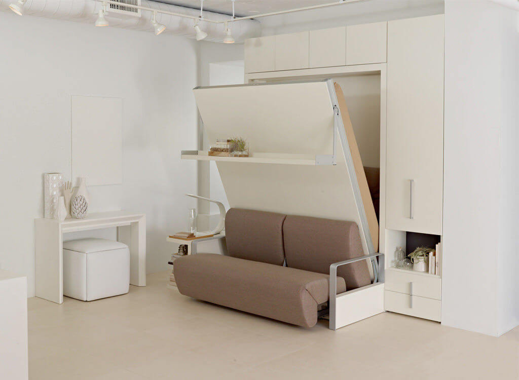 Мебель-трансформер в интерьере малогабаритной квартиры