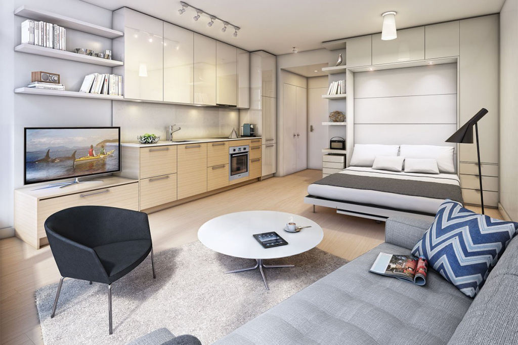Как организовать планировку для маленькой квартиры?